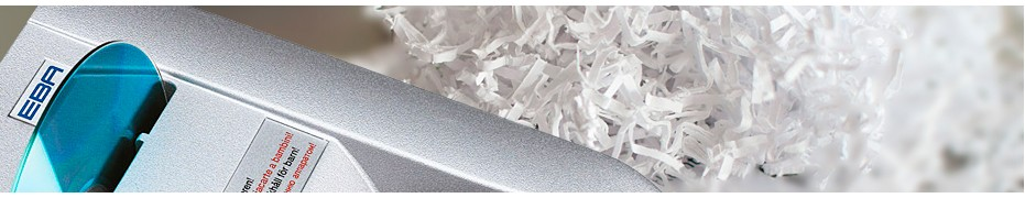 Shredders (paper shredders) for medium and large offices.