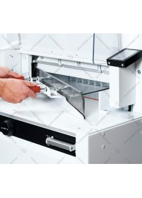 Device for replacing (installing) a guillotine knife EBA5255