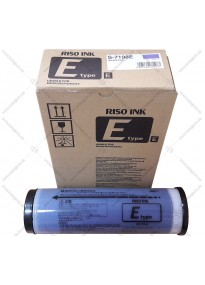 Ink for duplicator RISO MEDIUM BLUE S-7198E